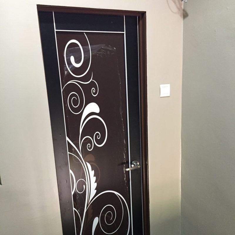 Home Architec Ideas Aluminium Bathroom Door Design Images